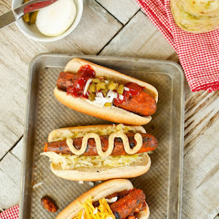 Charred Carrot Hotdogs