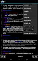 Screenshot of VerbTeX LaTeX Editor