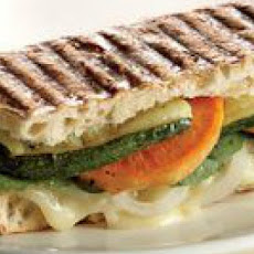 Brie-and-Vegetable Panini