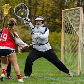 Big Save!! by Keith Kijowski - Sports & Fitness Lacrosse ( wayne eagles girls varsity lacrosse websterseawayclassic2014 )