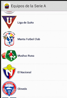 Screenshot of Futbol Ec