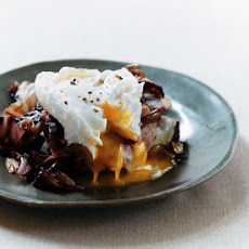 Truffled Toast with Radicchio and Egg