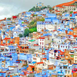 chaouen city by Mohamed Bouanga - Buildings & Architecture Homes ( blue city, architecture, chaoen, morocco, photography, city )