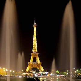La Tour Eiffel by Alice Lustah - City,  Street & Park  Street Scenes (  )