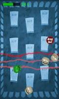 Screenshot of Dodge the Zombie