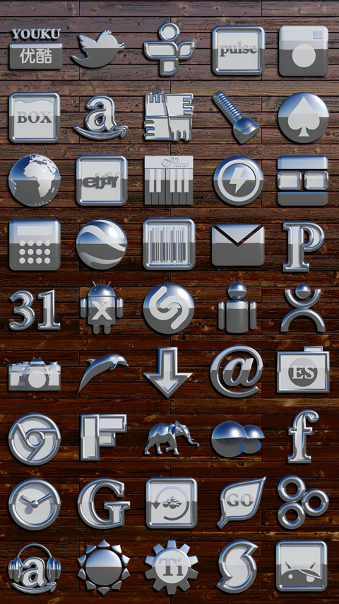 OSLO Next Launcher 3D Theme Screenshot 3