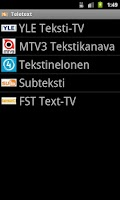 Screenshot of Teksti-TV