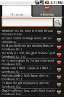Screenshot of Bible Verses (Ad free)