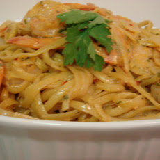 Spicy Shrimp and Pasta