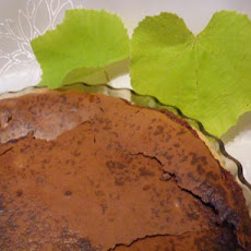 Simple Chocolate Chess Pie