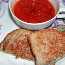 Simple Italian Grilled Cheese