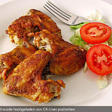 Marinierte Chicken Wings
