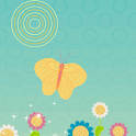 Flower and Butterfly icon