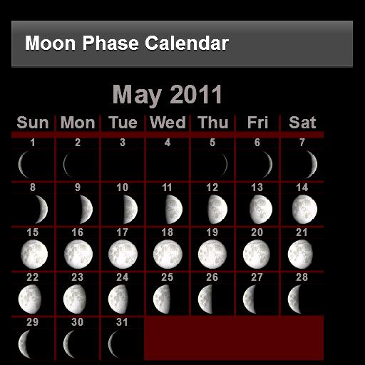 Moon Phase Calendar LOGO-APP點子