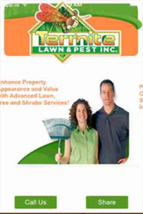 Termite Lawn & Pest Inc. Screenshot