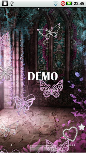 Diamond Pink Butterflies DEMO
