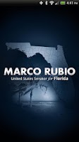 Screenshot of U.S. Senator Marco Rubio