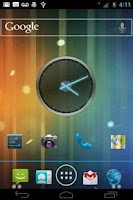 Screenshot of ICS Blue CM7 Theme