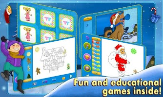Screenshot of My Christmas Week Story &Games