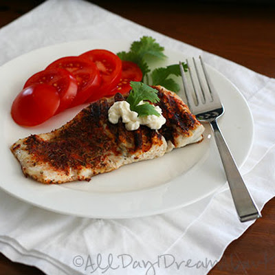 Blackened Barramundi – Low Carb and Gluten-Free