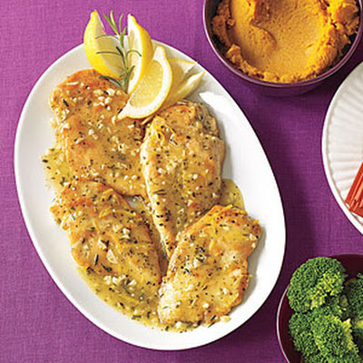 Garlic Chicken with Rosemary