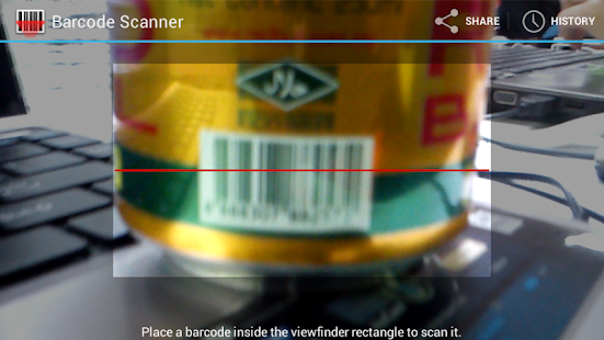 Halal Barcode Scanner UPSI - screenshot