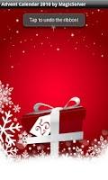 Screenshot of Christmas Advent Calendar 2010