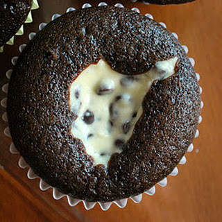 Chocolate Cream Cheese Surprise Cupcakes