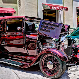 28 Ford Delivery by David Hammond - Transportation Automobiles ( sedan, cars, show, transportation, delivery, ford, classic,  )