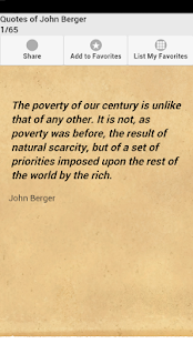 Quotes of John Berger - screenshot
