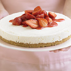 Strawberry Cheesecake In 4 Easy Steps