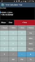 Screenshot of Time Calculator Trial