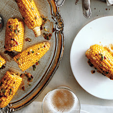 Corn on the Cob with Chipotle-Scallion Butter
