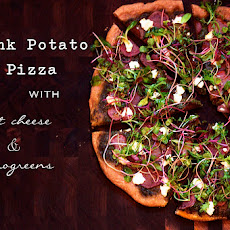 Pink Potato Pizza