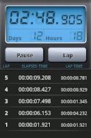 Screenshot of Stopwatch Pro