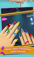 Screenshot of Sally's Nail Makeover