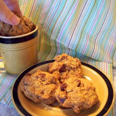 Lighter Pumpkin Chocolate Chip Cookies