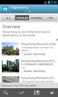 Screenshot of Hong Kong Guide by Triposo
