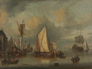 RIJKS: Jan Claesz. Rietschoof: painting 1719