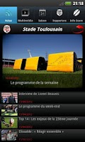 Screenshot of Officiel - Stade Toulousain