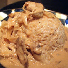 Chicken in Peanut Curry