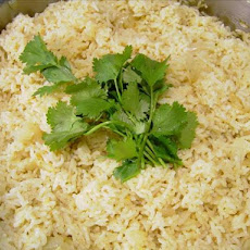Basmati Rice Seasoned with Garam Masala