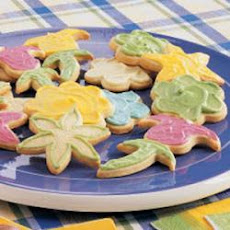 Frosted Butter Cutouts