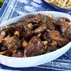 Greek Lamb Braised with Tomatoes (Kokkinisto)