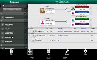Screenshot of RootsMagic