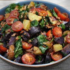 BLT Roasted Potato Salad
