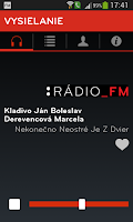 Screenshot of Rádio_FM