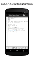 Screenshot of QPython - Python for Android
