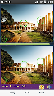 Find difference 7 Wonders - screenshot