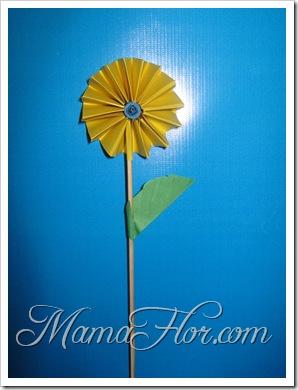 Manualidades en Papel: Una Flor…